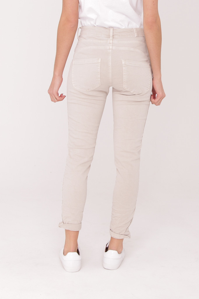 Cotton Trousers with Buttons