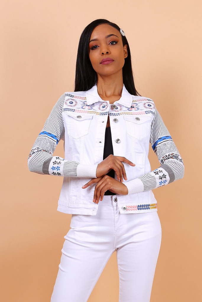 EMBROIDERED JEANS JACKETS