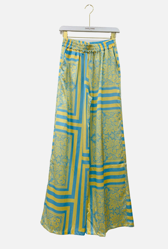 PALAZZO TROUSERS WITH POCKETS