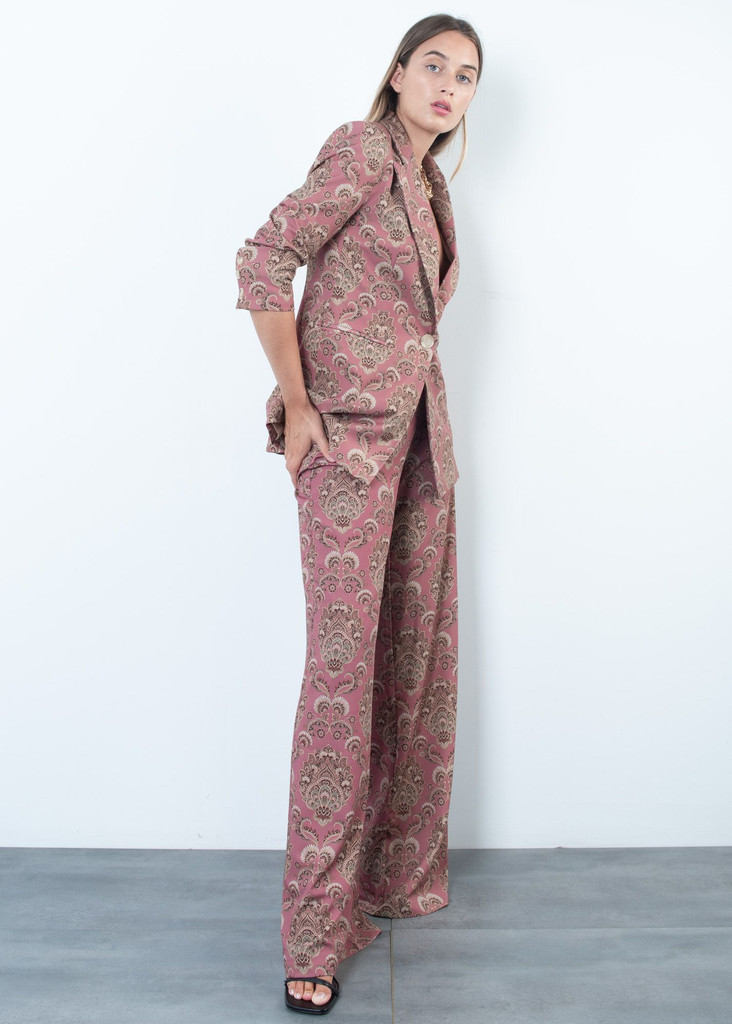 Trousers with Oriental Design