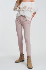 High Waist Super Skinny Trousers