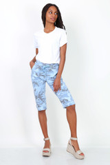 Camouflage Capri Trousers