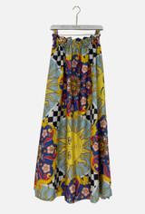 Skirt with Sun Print