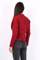 Classic Cotton Jacket with Belt Loops