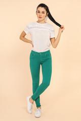 Emerald Green Skinny Jeans