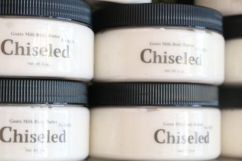 CHISELED GOATS MILK BODY BUTTER