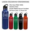 Aqua Pro 24oz Custom Steel Water Bottle