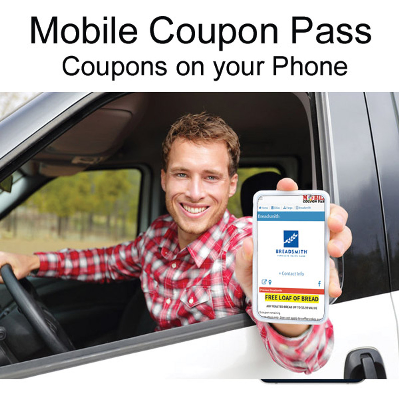 Mobile Coupons in major cities in ND, MN, SD and WI.
