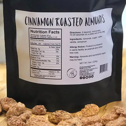 Cinnamon Kettle Roasted Almonds