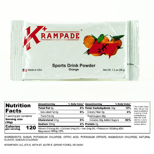 Krampade 2K Original Single Serving Orange