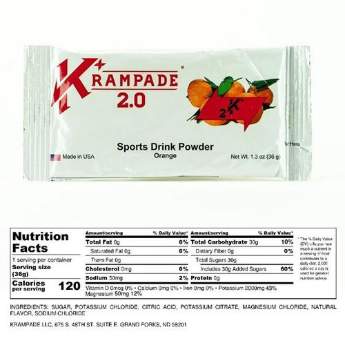 Krampade 2K 2.0 Single Serving Orange