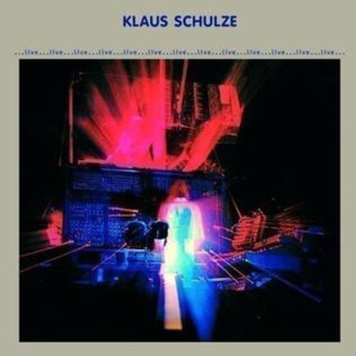 Klaus Schulze - ...Live... ( French import with poster)