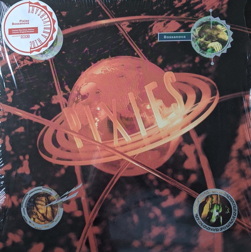 Pixies Bossanova - 30th Anniversary Limited Red Vinyl Edition includes Original Booklet.