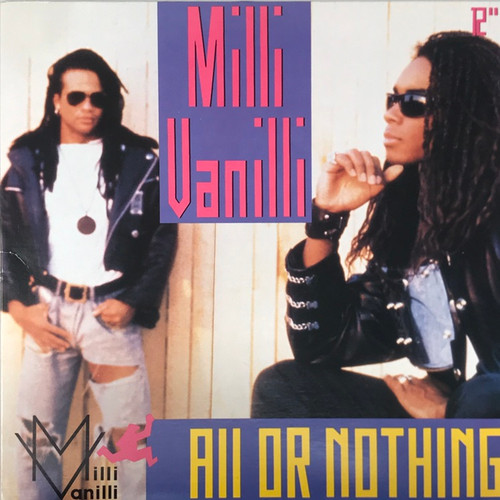 """Milli Vanilli - All or Nothing (12"""" Single)"""
