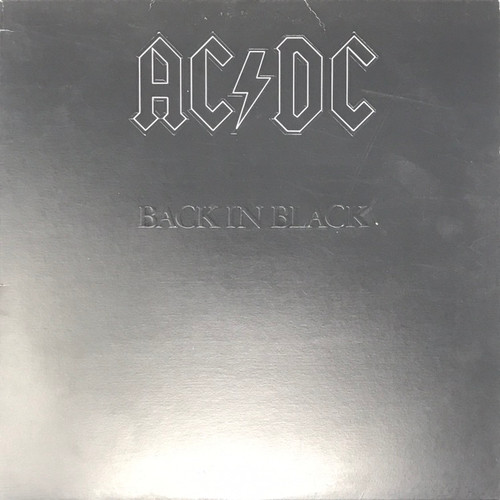 AC/DC - Back in Black (Early Canadian Pressing)