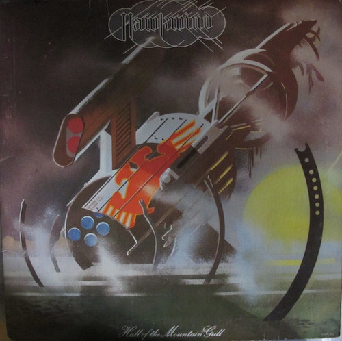 Hawkwind - Hall Of The Mountain Grill - with insert (VG+ vinyl)