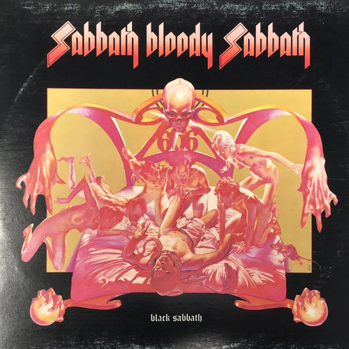 Black Sabbath - Sabbath Bloody Sabbath (Early Canadian Pressing)
