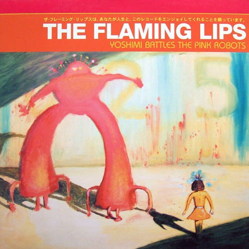 The Flaming Lips - Yoshimi Battles The Pink Robots (2002 Red Vinyl)