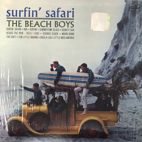 The Beach Boys - Surfin' Safari (US 70's Capitol Reissue)