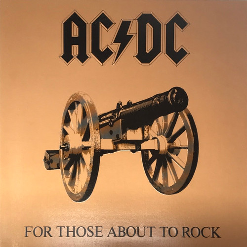 AC/DC - For Those About to Rock (Early Canadian VG++ Masterdisk)