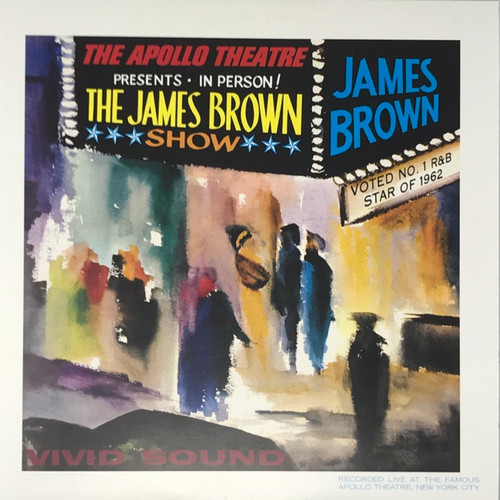 James Brown - Live at the Apollo Theatre (2008 Back to Black Reissue)