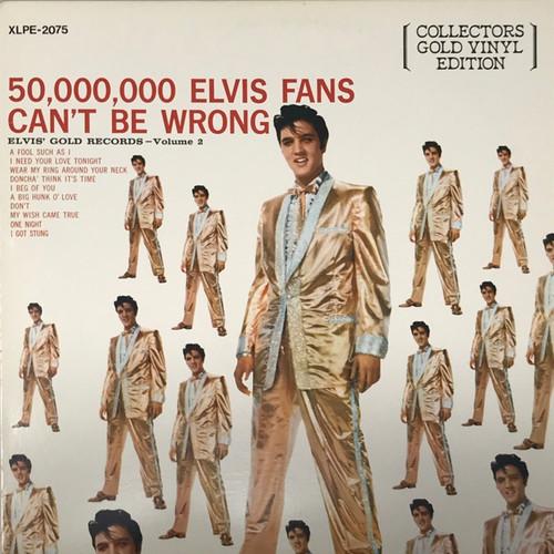 Elvis - Elvis' Gold Records Volume 2 (Gold Vinyl Edition)