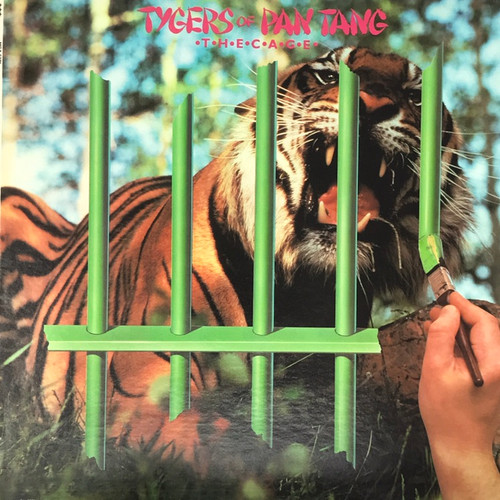 Tygers of Pan Tang - The Cage  (US Pressing)