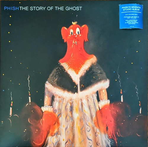 Phish - The Story Of The Ghost ( Limited Edition Red vinyl)