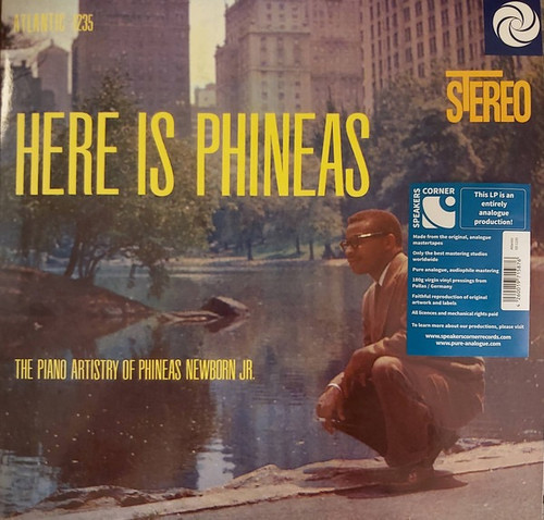 Phineas Newborn Jr. - Here Is Phineas (The Piano Artistry Of Phineas Newborn Jr.) (Speakers Corner)