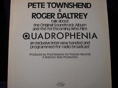 The Who - Quadrophenia Radio Special (Radio Promo)