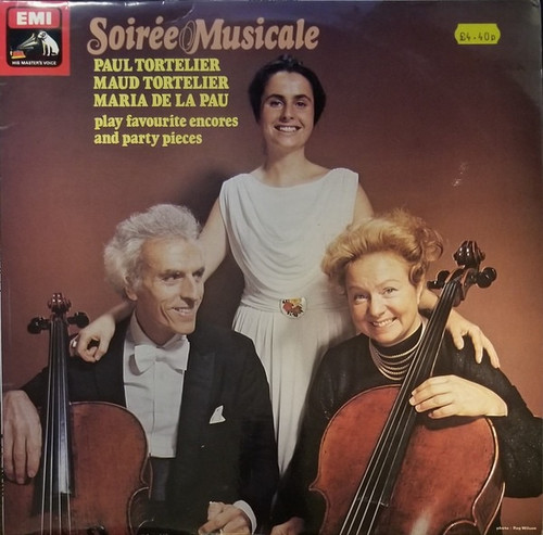 Paul Tortelier - Soiree Musicale