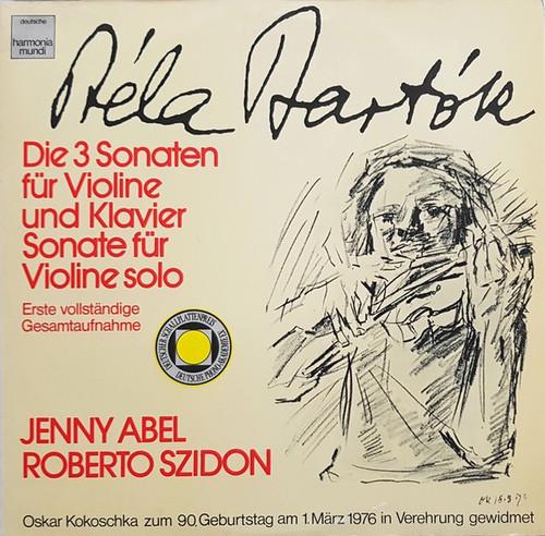 Béla Bartók - Die 3 Sonaten Für Violine Und Klavier / Sonate Für Violine Solo (NM 2 LP German Import)