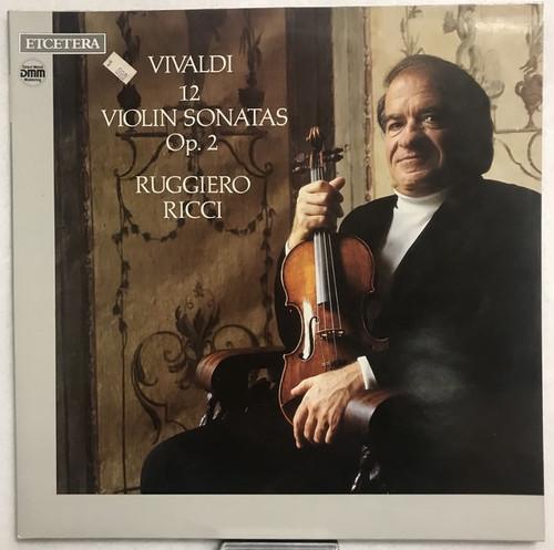 Ruggiero Ricci - Vivaldi 12 Violin Sonatas Op. 2 ( German DMM pressing)