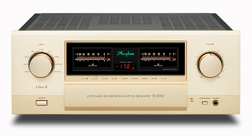 Accuphase E-650 Class A Precision Integrated Amplifier