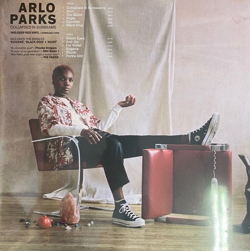 Arlo Parks - Collapsed in Sunbeams (Red Vinyl Rdition with Bonus Promo CD)