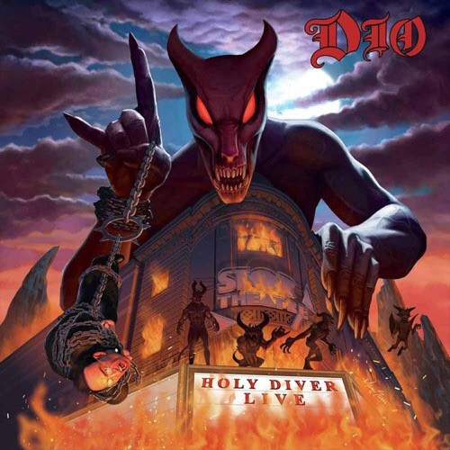 Dio - Holy Diver Live (3LP Limited Edition Lenticular)