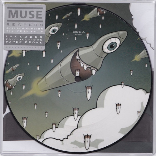 Muse - Reapers (picture disc)