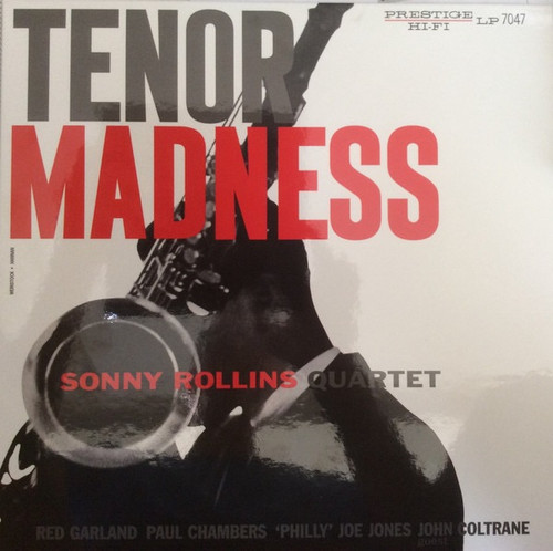 Sonny Rollins Quartet - Tenor Madness (Analogue Productions - number 456 on 200g vinyl)