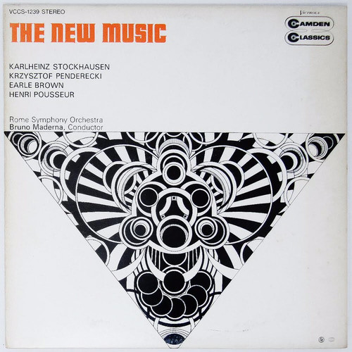 Karlheinz Stockhausen / Krzysztof Penderecki / Earle Brown / Henri Pousseur - The New Music