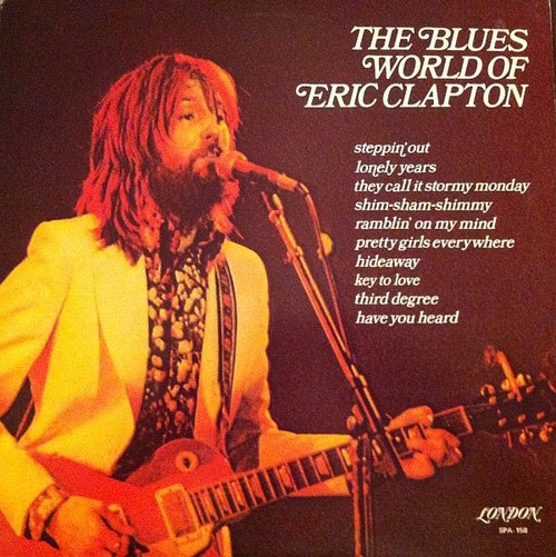 Various - The Blues World Of Eric Clapton ( Sealed Original Copy)