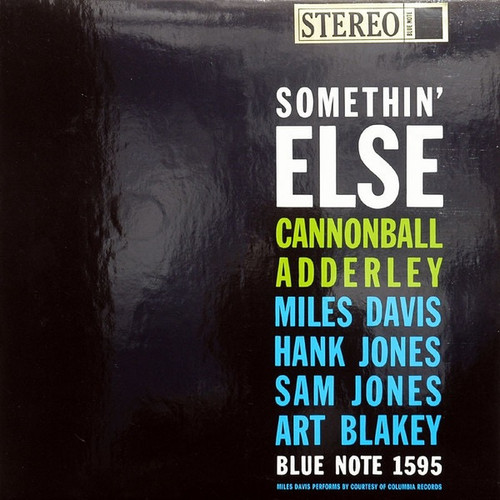 Cannonball Adderley - Somethin' Else (Classic Records 200g)