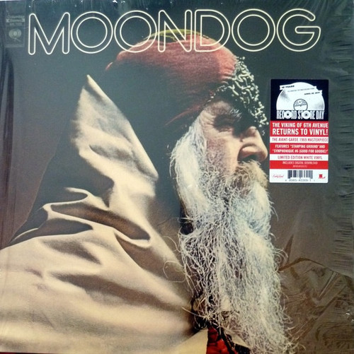 Moondog - Moondog ( Limited Edition white vinyl)