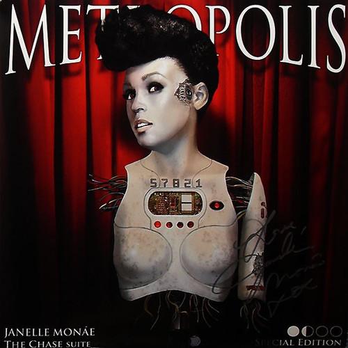 Janelle Monáe - Metropolis: The Chase Suite (Special Edition Cherry vinyl)