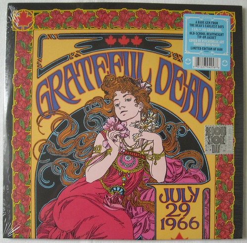 The Grateful Dead - P.N.E. Garden Aud., Vancouver, Canada, July 29 1966