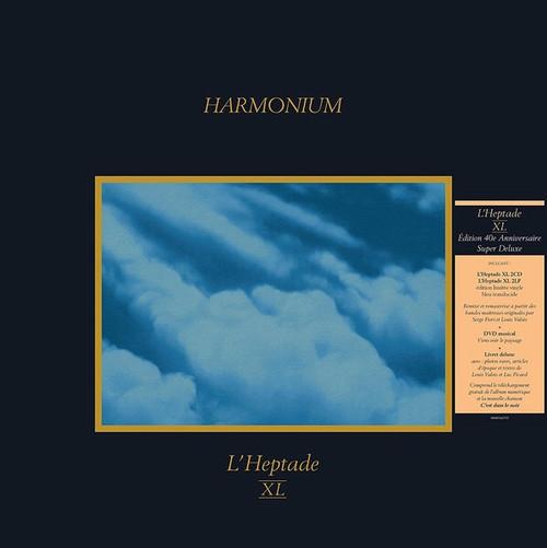 Harmonium - L'Heptade XL (Édition Super Deluxe sur Vinyles Bleu)