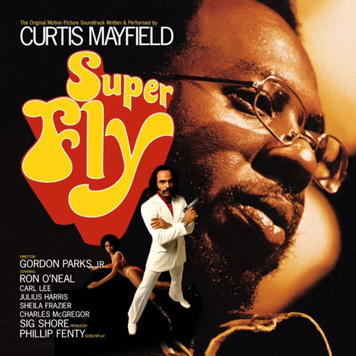 Curtis Mayfield - Superfly (Apple Red Vinyl)