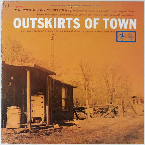 The Prestige Blues-Swingers - Outskirts of Town (Stereo issue)