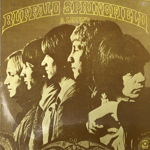 Buffalo Springfield - A Legend (France ATCO Yellow Label)
