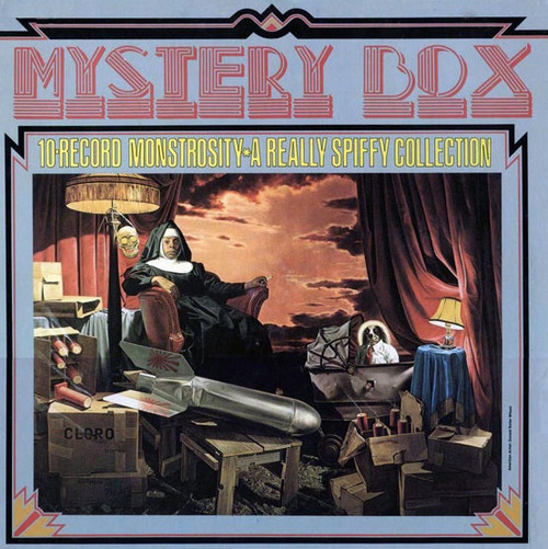 Frank Zappa - Mystery Box • 10-Record Monstrosity • A Really Spiffy Collection