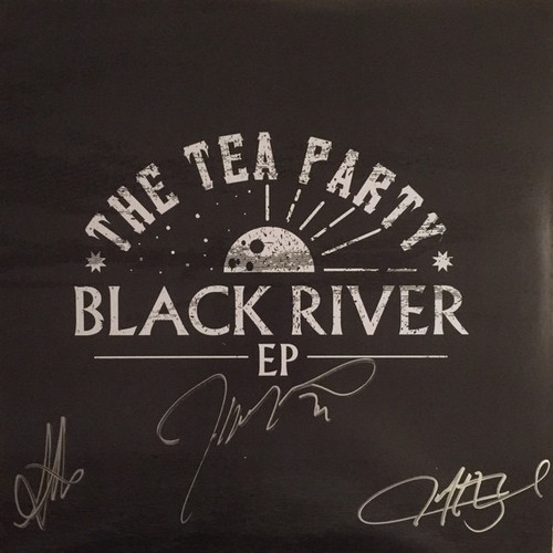 The Tea Party - Black River EP ( Limited Edition, Autographed, clear vinyl)